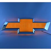 Chevrolet Bowtie Shaped Backlit LED Lighted Sign