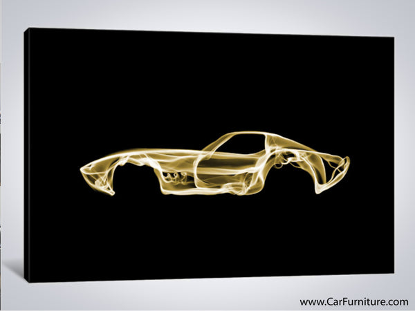 Chevy Corvette C3 Canvas Art
