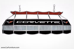 Chevy Corvette Tiffany Game-Room Pendant Lamp