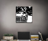 Chevy Modern Canvas Art