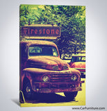 Classic Ford Truck Canvas Art