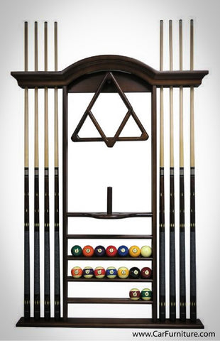 Luxury Pool Cue Rack