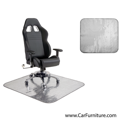 Diamond Plate Chair Mat