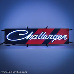 Dodge Challenger Small Neon Sign with Backing