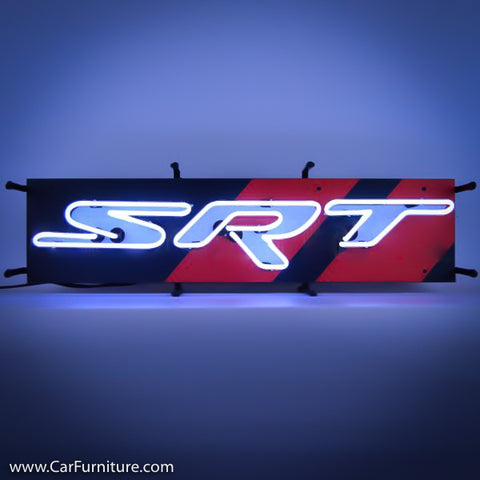 Dodge SRT Small Neon Sign with Backing