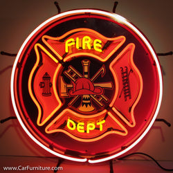 Fire Department Neon Sign