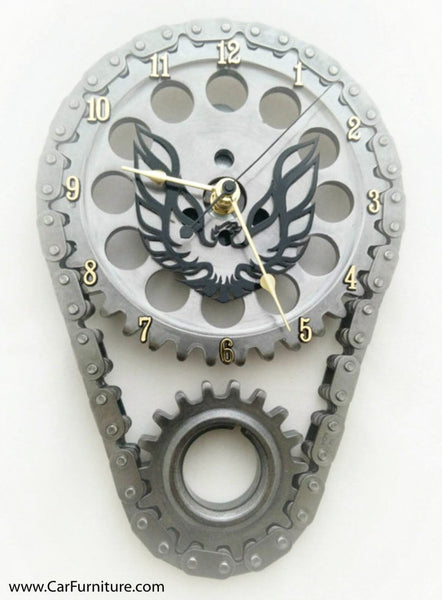 Pontiac Firebird Engine Timing Gear Wall Clock