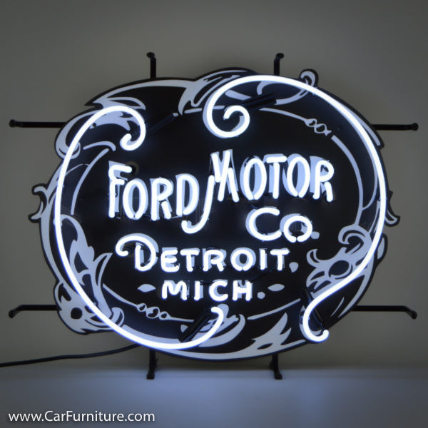 Ford Motor Company Vintage Neon Sign
