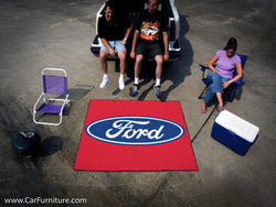 Ford Emblem Outdoor 'Tailgate' Rug
