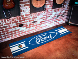 "Ford Emblem 18x72"" Putting Mat"