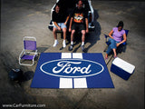 Ford Racing Stripe Outdoor 'Tailgate' Rug