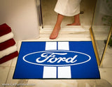 Ford Racing Stripe 33.75 x 42.5 Inch Bath Mat