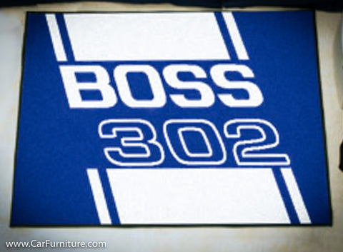 "Ford Boss 19X30"" Rug"