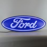 Ford Oval Backlit LED Lighted Sign