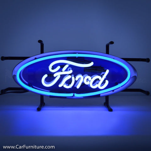 Ford Oval Small Neon Sign