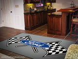 Ford Racing Flags 5X8' Rug