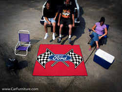 Ford Racing Flags Outdoor 'Tailgate' Rug
