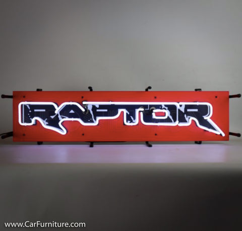 Ford Raptor Small Neon Sign