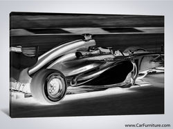 Formula 1 Racer Modern Canvas Art