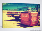 Ice Cold Route 66 Canvas Print