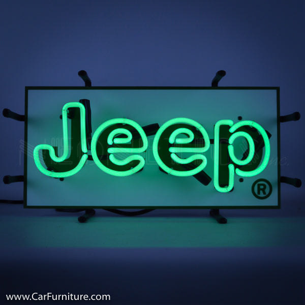 Jeep Small Neon Sign