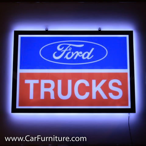 LED Slim Ford Trucks Neon Sign