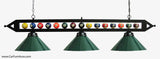 Billiard Ball Over-Table Pendant Lamp