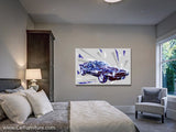 Modern Muscle Geometric Canvas Art