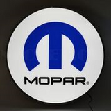 Mopar Omega Backlit LED Lighted Sign