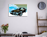 Muscle Car in the Sky Canvas Art