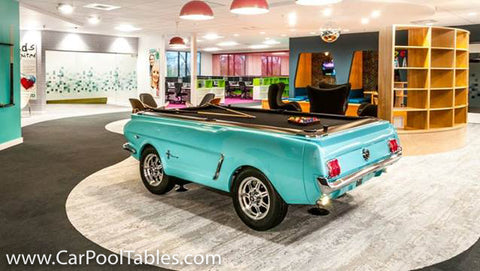 Ford Mustang Collectors Edition Pool Table CarFurniturecom - Car pool table