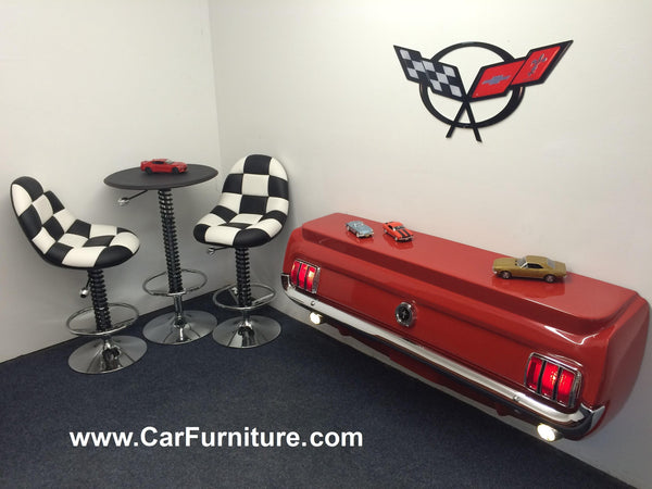 1965 Ford Mustang Rear Console Table Carfurniture Com