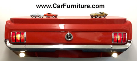 ... 1965 Ford Mustang Rear Console Table ...