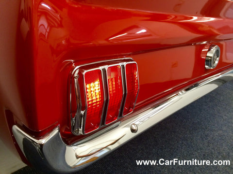 ... 1965 Ford Mustang Rear Console Table