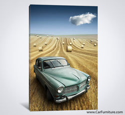 Nowhere to Be Found Car Canvas Art