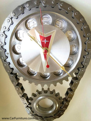 Pontiac GTO Engine Timing Gear Wall Clock