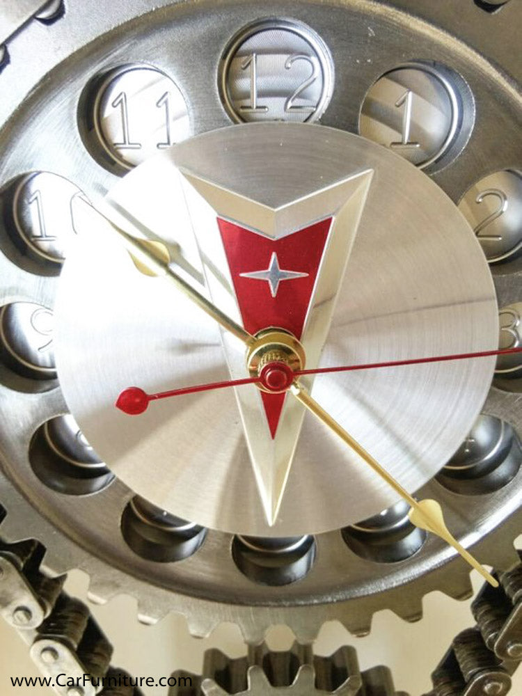 Pontiac GTO Engine Timing Gear Wall Clock – CarFurniture.com