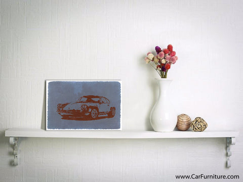 Porche #9 Canvas Art