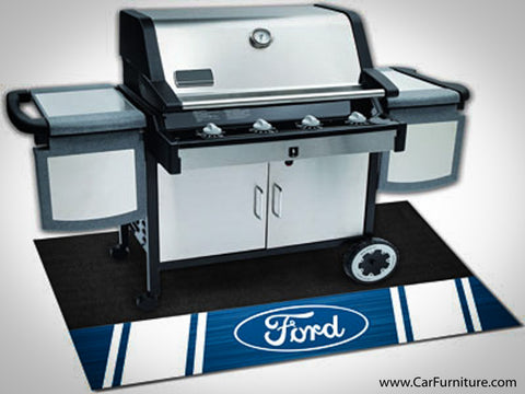 Powered By Ford Grill Mat