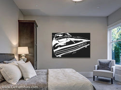 Pure Muscle Canvas Art