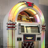GLOSSY RETRO BUBBLER CD JUKEBOX