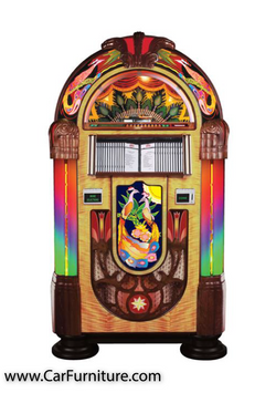 Peacock CD-6 Jukebox: Exotic & Classic