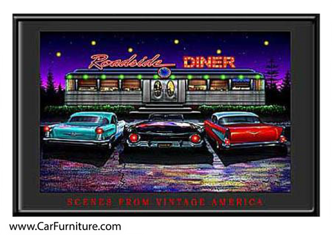 Roadside Diner (LED ART)