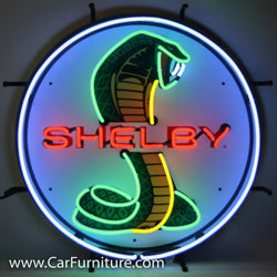 Shelby Cobra Neon Sign