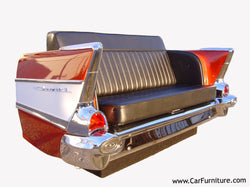 Red-Chevy-Bel-Air-Sofa-Couch-Black-Leather-Retro-Vintage-www.CarFurniture.com