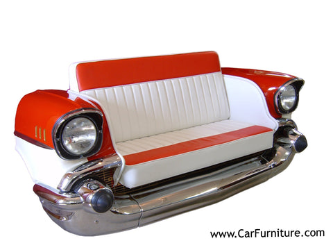 57 Chevy Front End Couch – CarFurniture.com