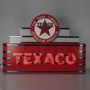 Marquee Texaco Neon Sign