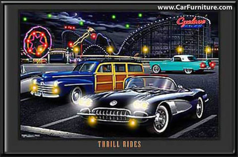 Thrill rides (LED ART)