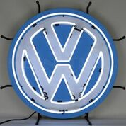 Volkswagen VW Round Neon Sign