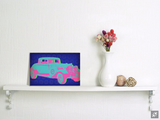 Vintage Retro Car Pop Art